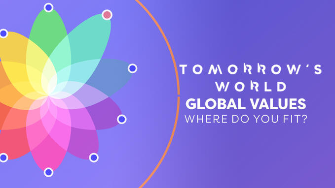 Tomorrow's World: Global Values - Where Do You Fit?